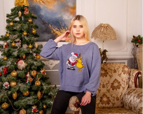 Купити жіночий світшот з вишивкою Друзі (жіночий) в Україні від Галичанка фото 1