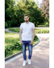 Купити чоловічу футболку Casual футболка (біла)  в Україні від Галичанка фото 1