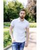 Купити чоловічу футболку Casual Поло (біла)  в Україні від Галичанка фото 1