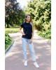 Купити жіночу футболку casual Футболка ( чорна) в Україні від Галичанка фото 1