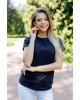 Купити жіночу футболку casual Футболка ( чорна) в Україні від Галичанка фото 2