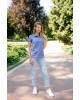Купити жіночу футболку casual Поло ( джинс) в Україні від Галичанка фото 1
