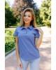 Купити жіночу футболку casual Поло ( джинс) в Україні від Галичанка фото 2