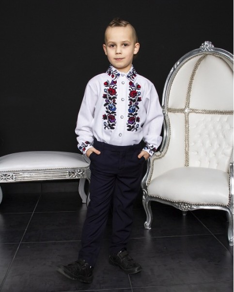 Вишиванка для хлопчика Павлик  – купити в УкраїнівідГаличанка фото 1