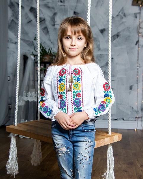 Вишиванка для дівчинки Галинка – купити в Україні від Галичанка фото 1