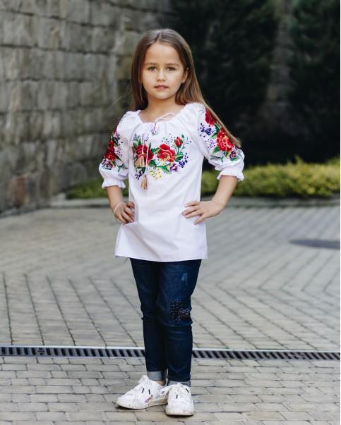 Вишиванка для дівчинки Лада – купити в Україні від Галичанка фото 1