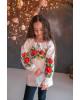 Вишиванка для дівчинки Лада бязь (біла) – купити в Україні від Галичанка фото 2
