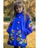 Купити пальто для дівчинки Метелик (електрик) в Україні від Галичанка фото 1