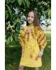 Купити вишите дитяче плаття Дзвінка (жовта) – ціна від виробника Галичанка фото 2