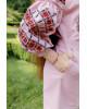 Купити вишите дитяче плаття Дзвінка (пудра) – ціна від виробника Галичанка фото 3