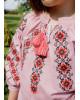 Купити вишите дитяче плаття Дзвінка (пудра) – ціна від виробника Галичанка фото 2