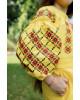 Купити вишите дитяче плаття Дзвінка (жовта) – ціна від виробника Галичанка фото 3