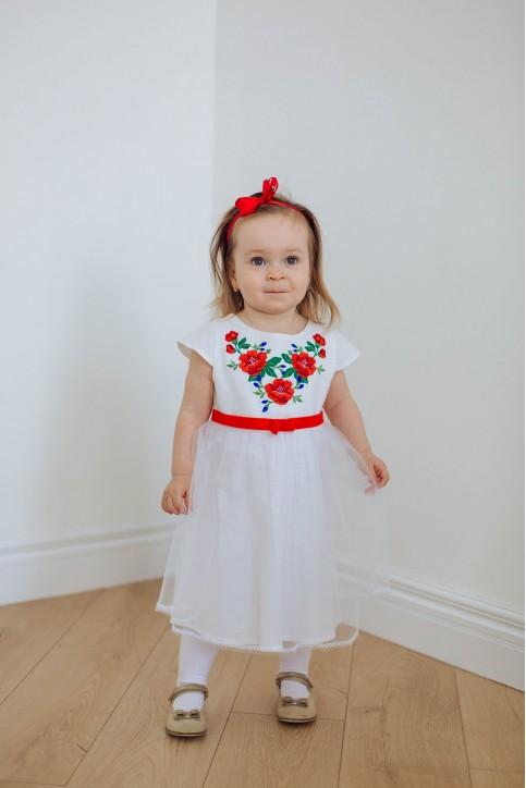 Купити вишите дитяче плаття Малютка  – ціна від виробника Галичанка фото 1