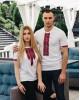 Купити чоловічу футболку вишиванку Фаворит (біла з червоним) в Україні від Галичанка фото 2