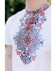 Купити чоловічу футболку вишиванку Орел ( біла з червоним) в Україні від Галичанка фото 2