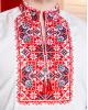 Купити чоловічу вишиту сорочку Життєслав (біла з червоно-чорним)в Україні від Галичанка фото 2