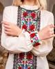 Купити жіночу вишиту сорочку Агнеса плюс (молочна)в Україні від Галичанка фото 2