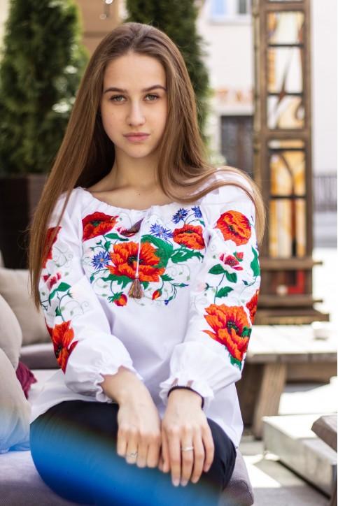 Купити жіночу вишиту сорочку Богуславав Україні від Галичанка фото 1