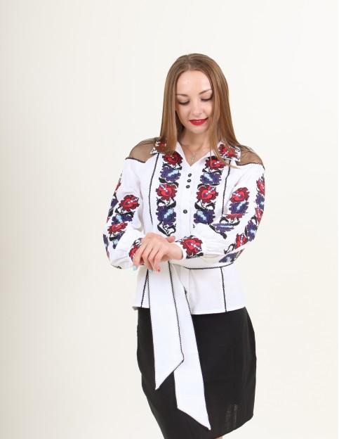 Купити жіночу вишиту сорочку Чародійкав Україні від Галичанка фото 1