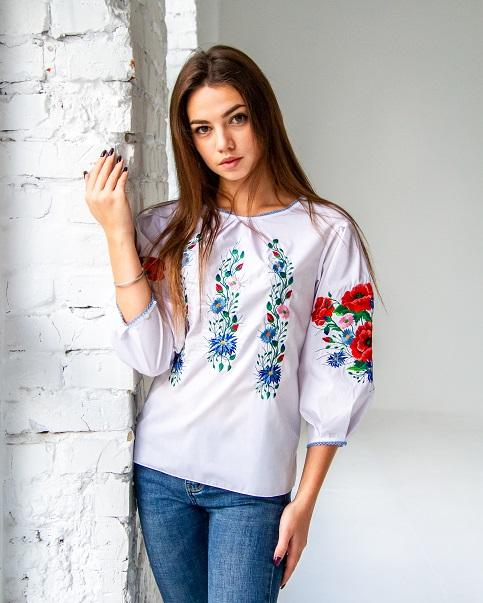 Купити жіночу вишиту сорочку Єва в Україні від Галичанка фото 1