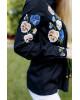 Купити жіночу вишиту сорочку Фелісія  (чорна)в Україні від Галичанка фото 3