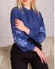 Купити жіночу вишиту сорочку Голуба симфонія (джинс)в Україні від Галичанка фото 2