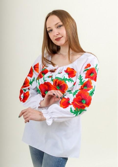 Купити жіночу вишиту сорочку Любавав Україні від Галичанка фото 1
