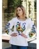 Купити жіночу вишиту сорочку Мар'яна (біла)в Україні від Галичанка фото 1