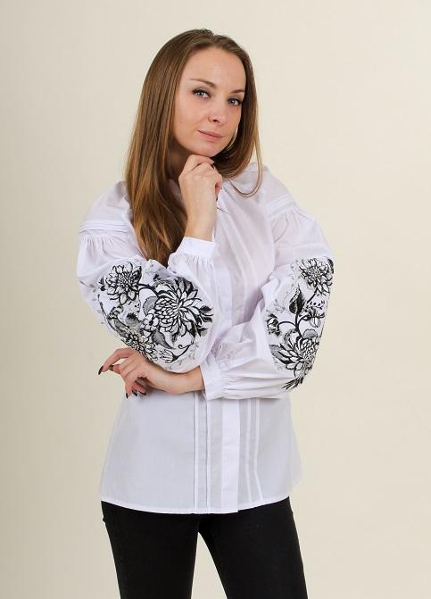 Купити жіночу вишиту сорочку Місячна симфоніяв Україні від Галичанка фото 1