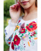 Купити жіночу вишиту сорочку Наше літо бохо(біла)в Україні від Галичанка фото 2