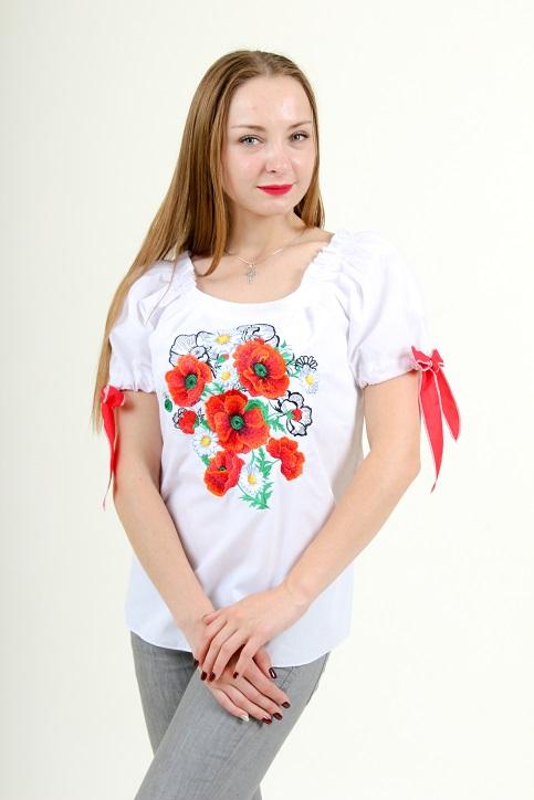 Купити жіночу вишиту сорочку Подих літав Україні від Галичанка фото 1