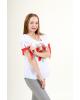 Купити жіночу вишиту сорочку Подих літав Україні від Галичанка фото 2