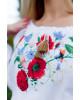 Купити жіночу вишиту сорочку Солов'їна пісня бохо (біла)в Україні від Галичанка фото 2