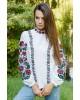 Купити жіночу вишиту сорочку Іларія (біла)в Україні від Галичанка фото 1