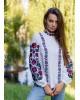 Купити жіночу вишиту сорочку Іларія (біла)в Україні від Галичанка фото 3
