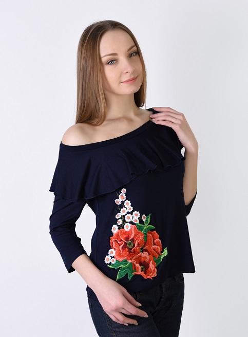 Купити жіночу футболку вишиванку Натхнення в Україні від Галичанка фото 1