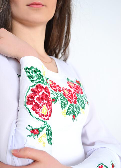 Купити жіночу футболку вишиванку Поема в Україні від Галичанка фото 1