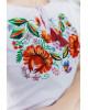 Купити жіночу футболку вишиванку Мазурка (біла) в Україні від Галичанка фото 2