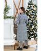 Купити пальто з вишивкою Парижанка (білий)в Україні від Галичанка фото 2
