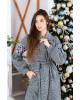 Купити пальто з вишивкою Парижанка (білий)в Україні від Галичанка фото 3