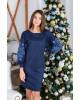 Купити вишиту сукню  Скіфія (синя з голубим) в Україні від виробника Галичанка фото 2
