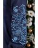 Купити вишиту сукню  Скіфія (синя з голубим) в Україні від виробника Галичанка фото 3