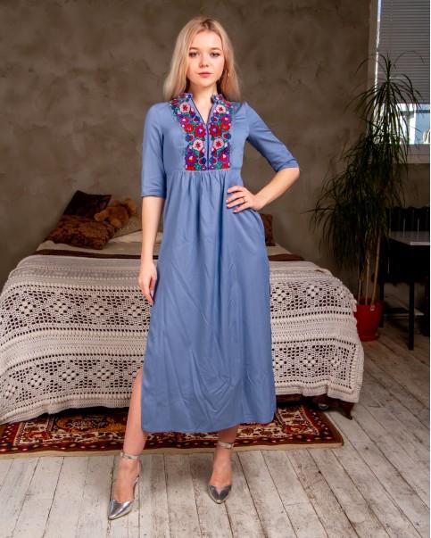 Купити вишиту сукню Барвінок в Україні від виробника Галичанка фото 1