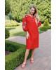 Купити вишиту сукню Цвіт троянди (червоне) в Україні від виробника Галичанка фото 2