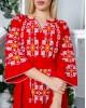 Купити вишиту сукню  Геометрія (червона) в Україні від виробника Галичанка фото 2