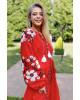 Купити вишиту сукню Паризький букет (червона) в Україні від виробника Галичанка фото 3