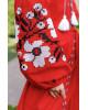 Купити вишиту сукню Паризький букет (червона) в Україні від виробника Галичанка фото 2