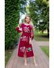Купити вишиту сукню Роксолана (вишня-пудра) в Україні від виробника Галичанка фото 1