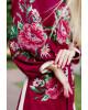Купити вишиту сукню Роксолана (вишня-пудра) в Україні від виробника Галичанка фото 3