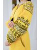 Купити вишиту сукню  Злата (жовта з чорним) в Україні від виробника Галичанка фото 2